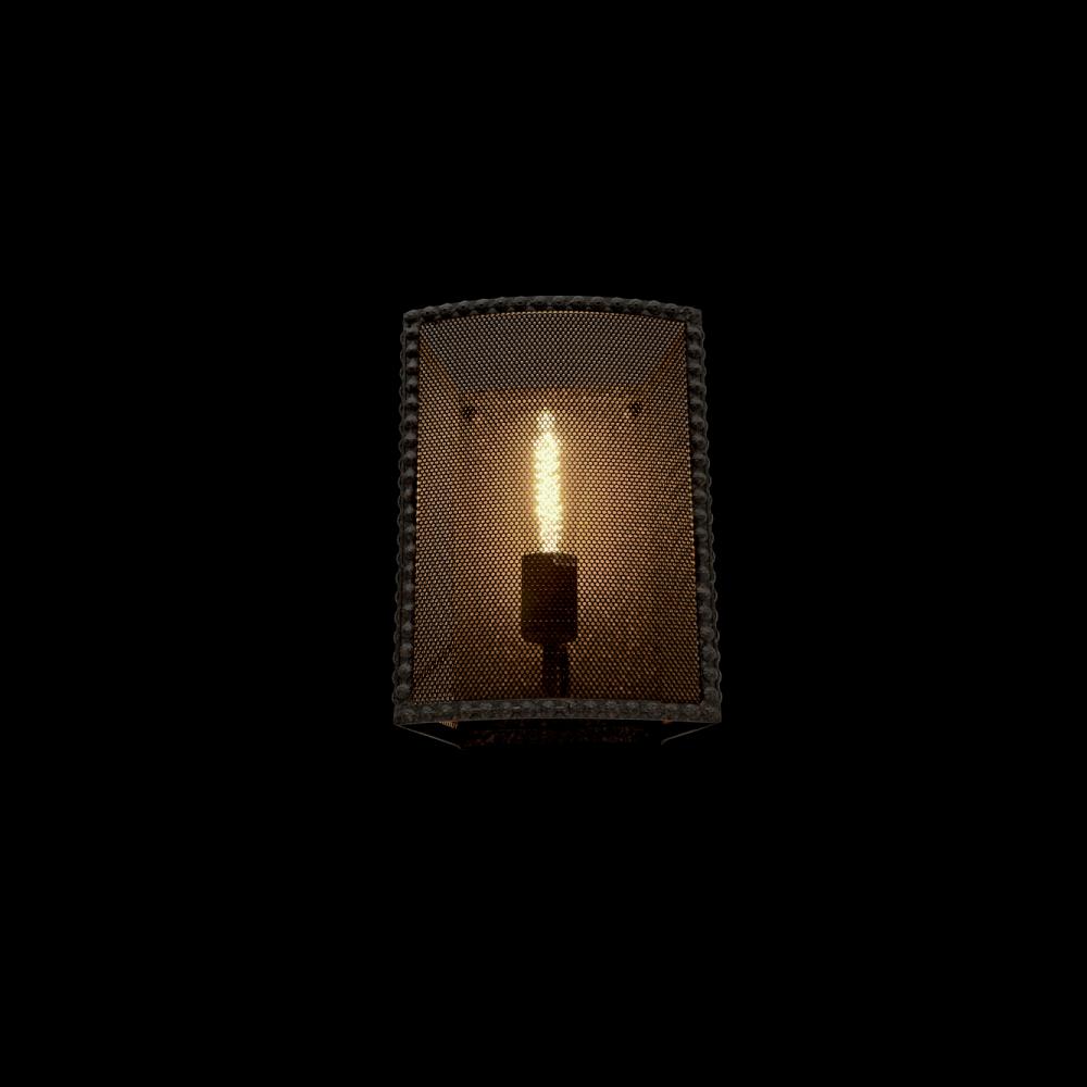 955CARTER1W CARTER Fali lámpa 1XE27 BLACK
