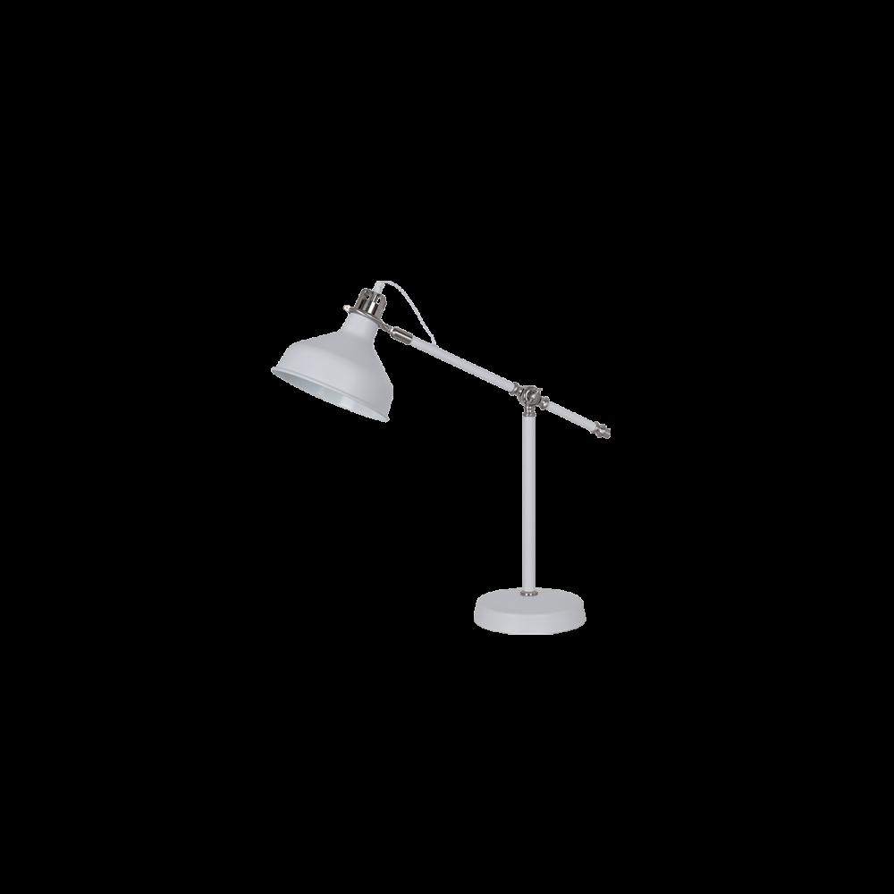 955JOHN1T/WH JOHN Asztali lámpa 1XE27 H600mm WHITE