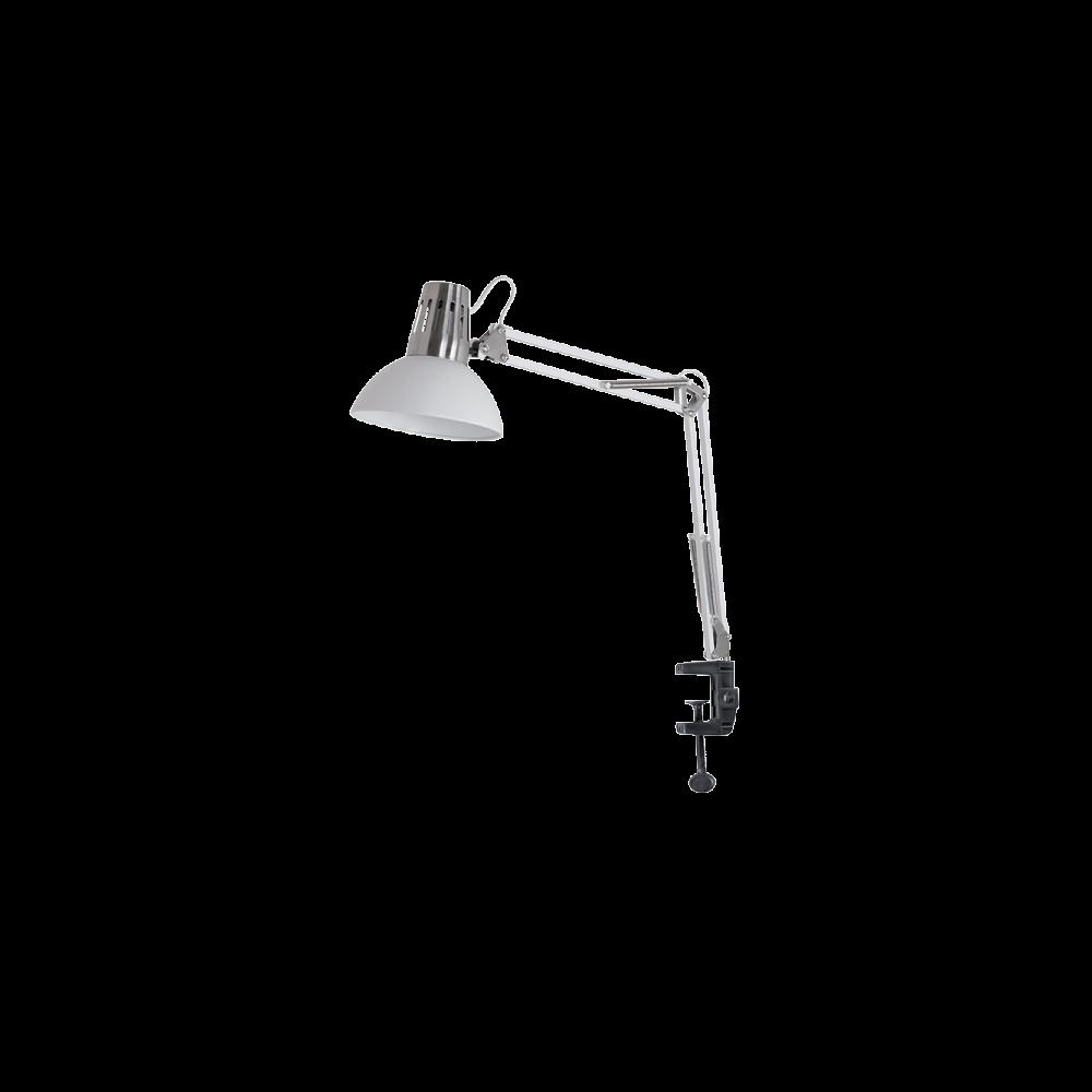 955LUKE1T/WH LUKE Asztali lámpa 1XE27 H700mm WHITE