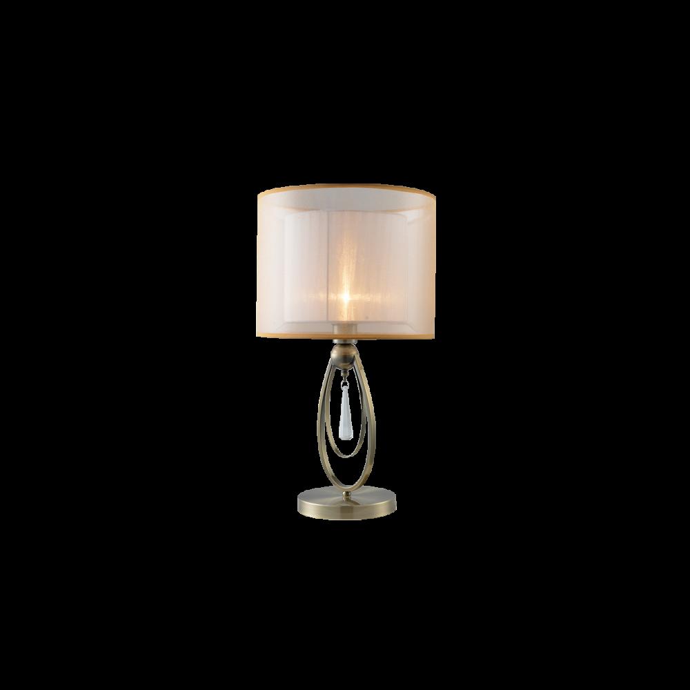 955MERY1T/AB MERY Asztali lámpa 1XE27 D320X570mm ANTIQUE BRASS