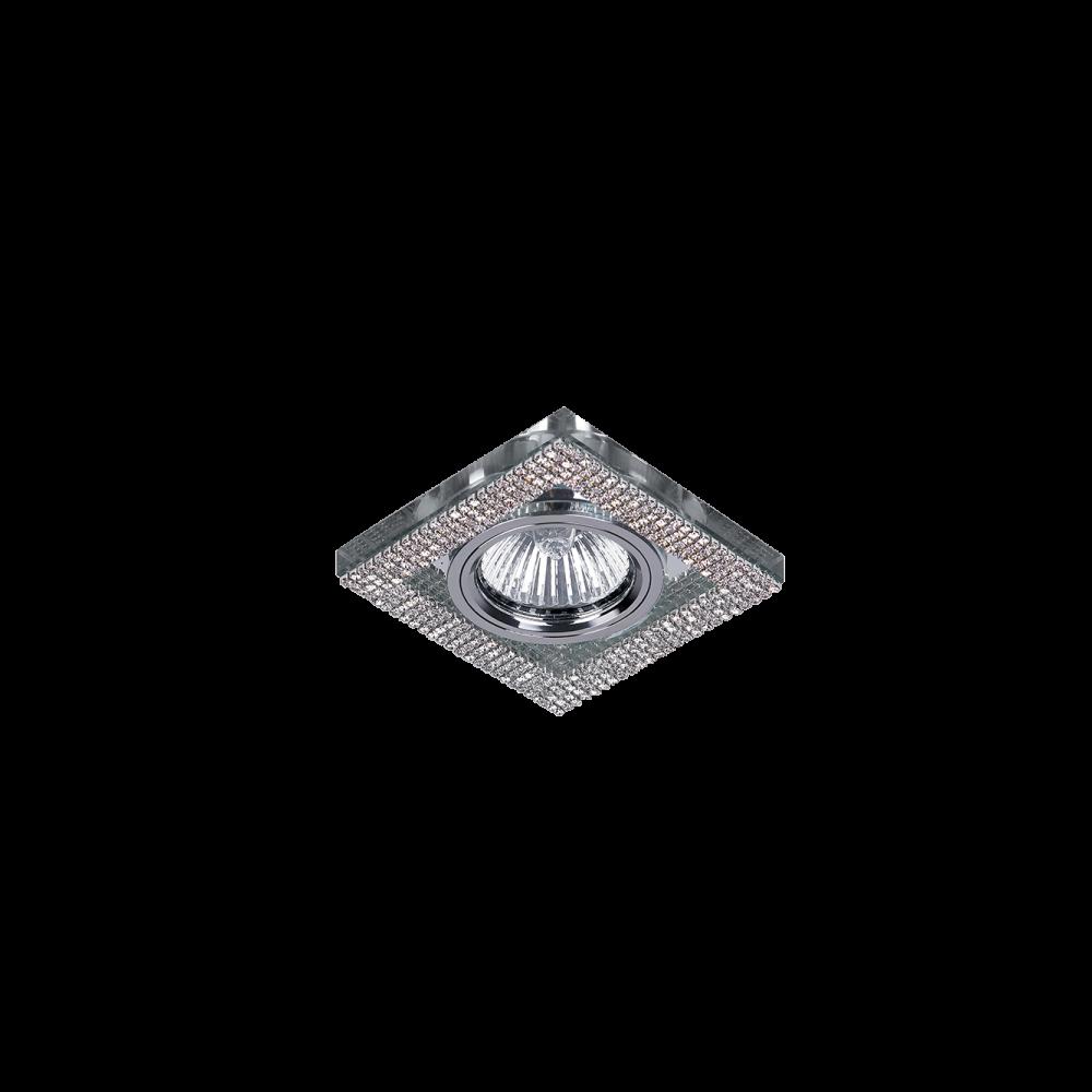 925776S-SL CR-776S-SL Beépíthető Spot SQUARE CHROME-CRYSTAL