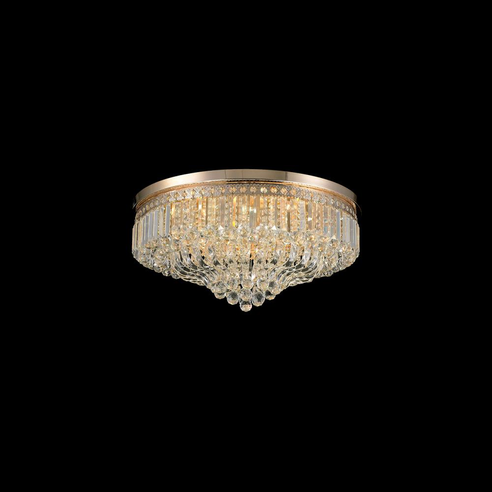 955AMELIA18 AMELIA Csillár 18XE27 D800XH300mm GOLD