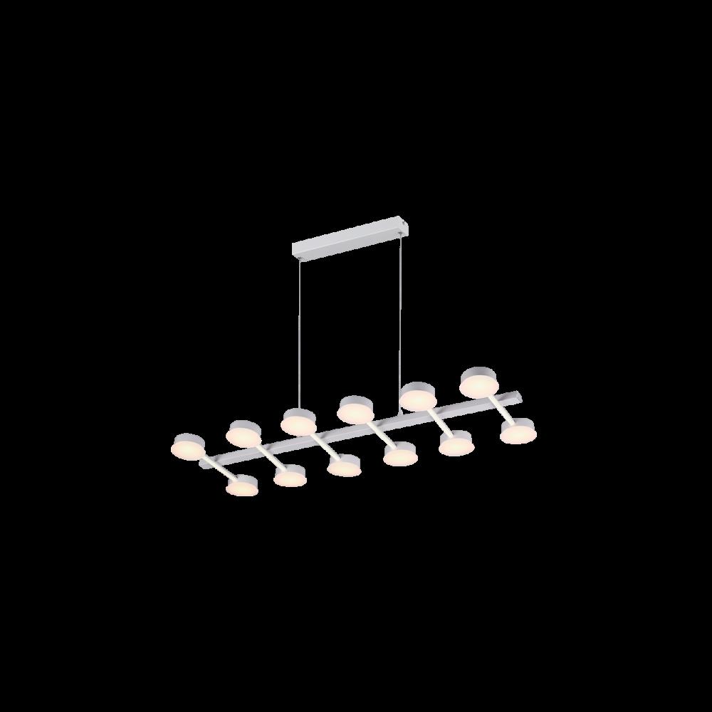 955AZZAR108 AZZAR LED Csillár 108W-3000K MAT WHITE