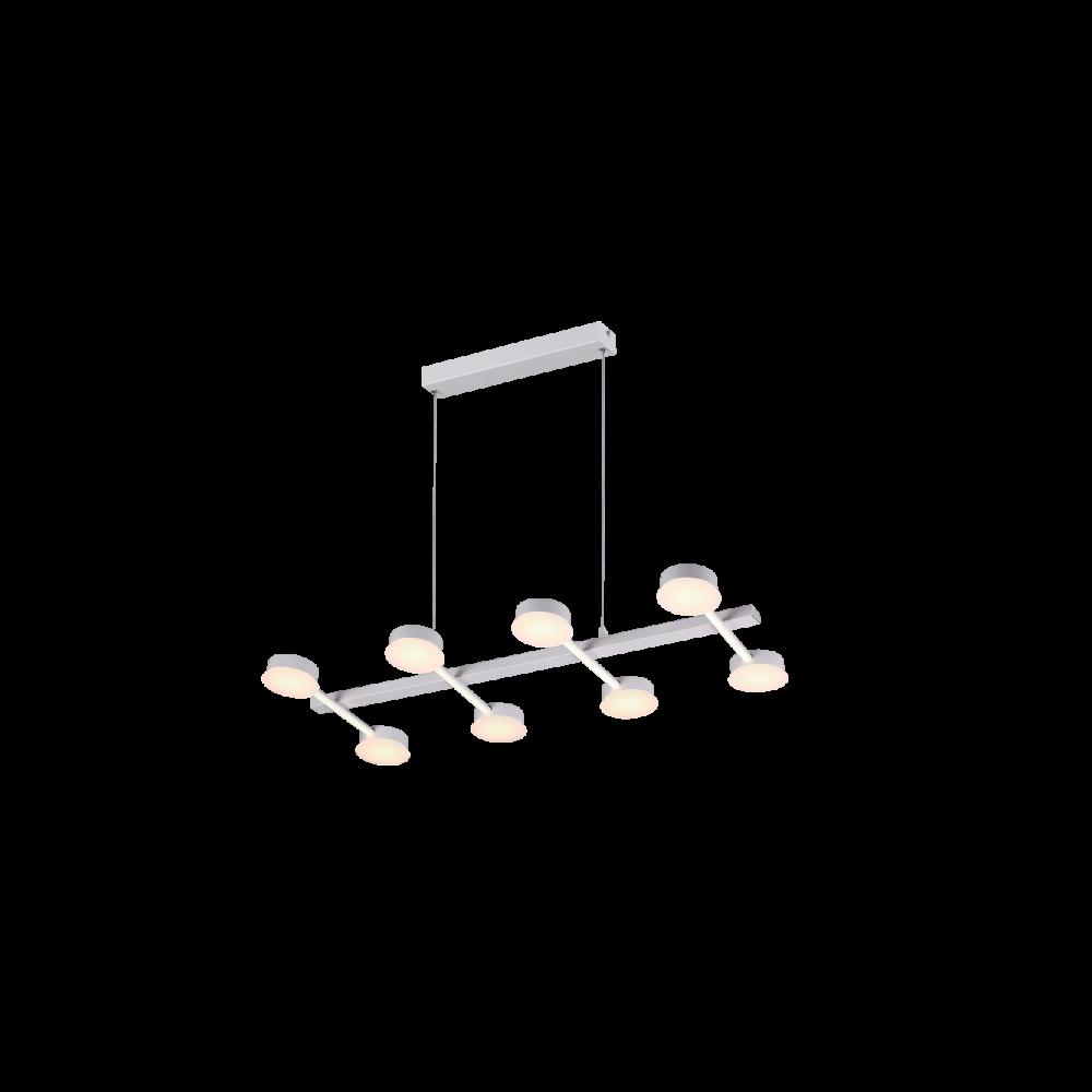 955AZZAR72 AZZAR LED Csillár 72W-3000K MAT WHITE