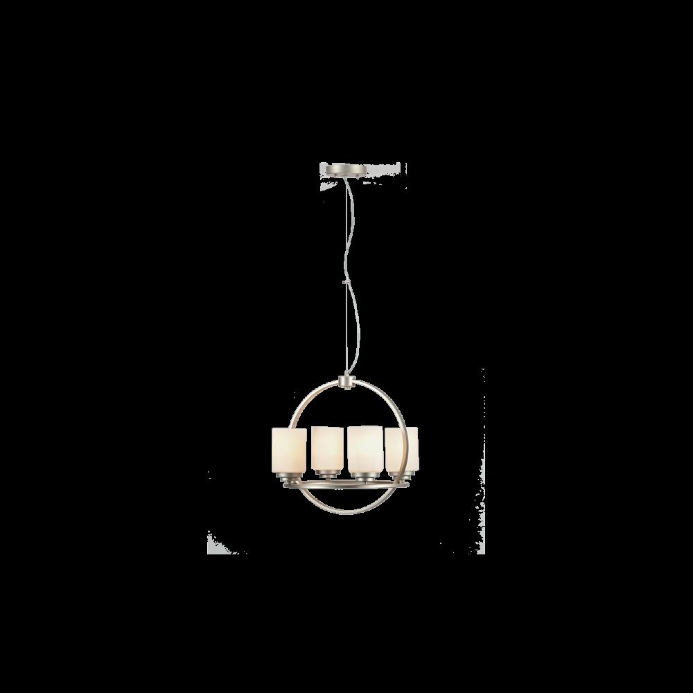 955LESLIE4 LESLIE Csillár 4XE27 D400mm
