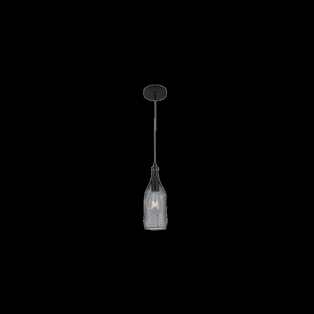 955KEN1 KEN Függeszték 1XE27 BLACK D120mm