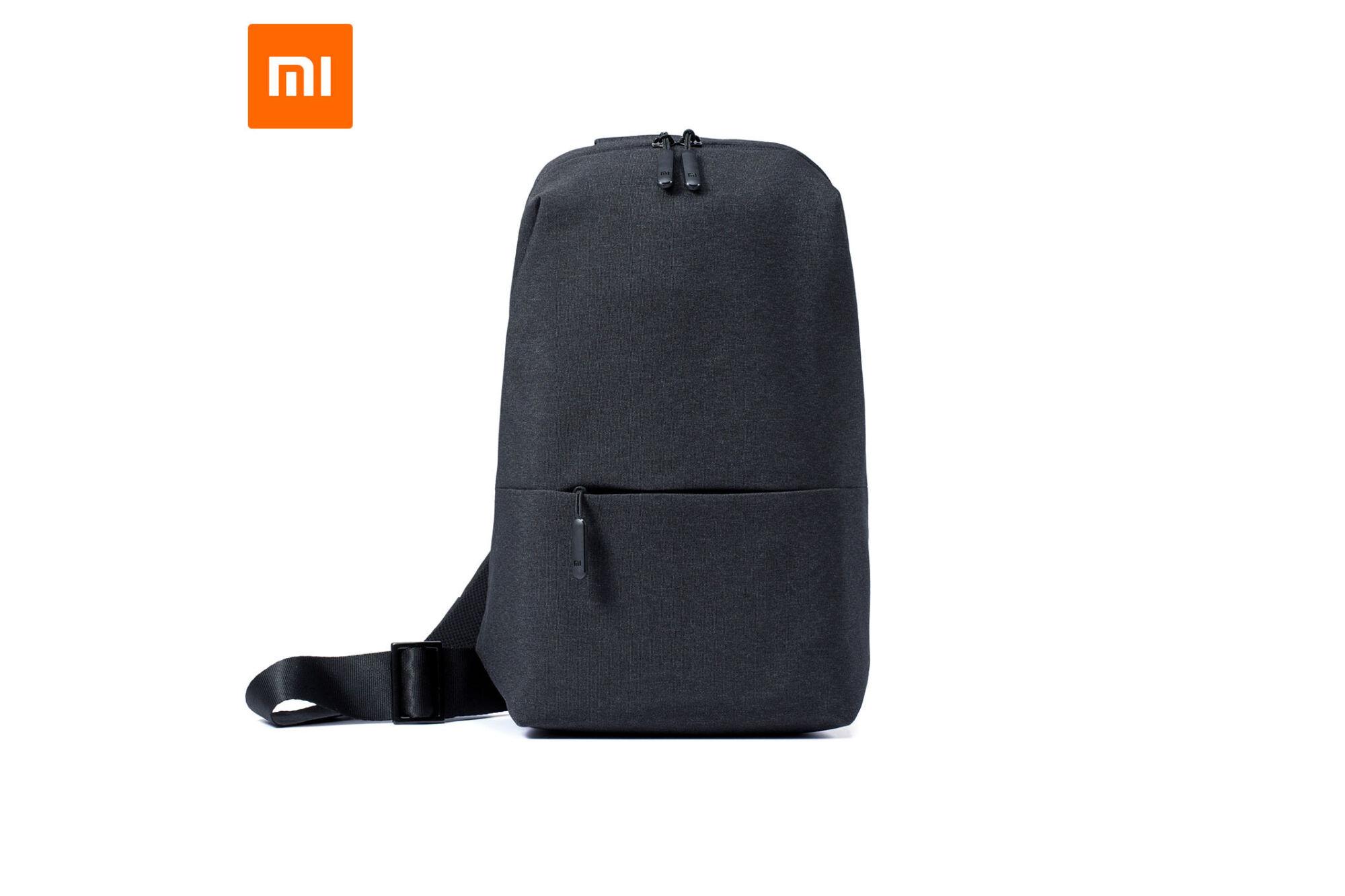 37f8667c90d3 Xiaomi Mi City Sling Bag vállpántos hátizsák - SÖTÉTSZÜRKE Katt rá a  felnagyításhoz