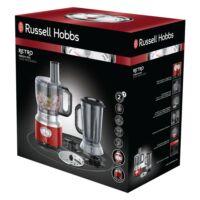 Russel Hobbs 25180-56 Retro piros konyhai robotgép