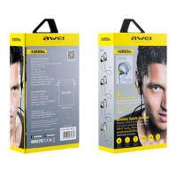 Awei Bluetooth Sztereo Sport Headset A888BL, IPX4 vízállóság, Fekete