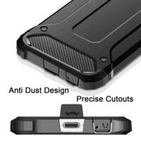 Armor Karbon Hátlap Tok, Xiaomi Redmi 7a Fekete