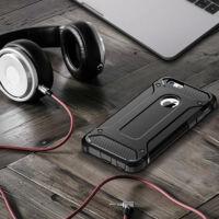 Armor Karbon Hátlap Tok, Huawei P Smart 2019 Fekete