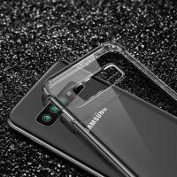 Hátlap Tok, Anti Shock 0,5mm, Samsung G985 Galaxy S20 Plus Víztiszta átlátszó