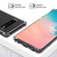 Hátlap Tok, Anti Shock 0,5mm, Samsung A415 Galaxy A41 Víztiszta átlátszó