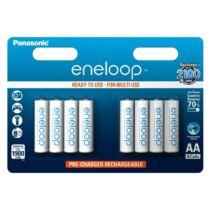 Újratölthető elem Panasonic Eneloop R6/AA 1900mAh - 8db csomagonként