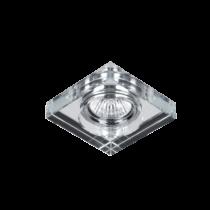 925778S-CL CR-778S-CL Beépíthető Spot SQUARE CLEAR GLASS