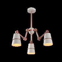 955SPIDER3-WH SPIDER Csillár 3XE27 WHITE