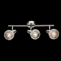 955JULIE3 JULIE Spot 3XE14 SATIN NICKEL-ALUMINIUM