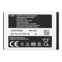 Mobiltelefon akkumulátor, Samsung AB463446BA/BU 800mAh - E250 (bag)