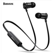 Baseus S07 Encok Sport Wireless Earphone Bluetooth Stereo Headset, Fekete