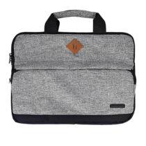 Univerzális Fashion Laptop-Notebook táska 15,5 - Világosszürke