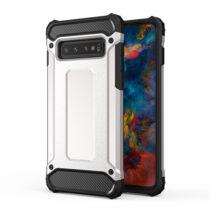 Armor Karbon Hátlap Tok, Samsung A605 Galaxy A6 Plus 2018 Ezüst
