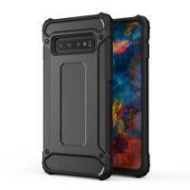 Armor Karbon Hátlap Tok, Samsung G970 Galaxy S10E Fekete