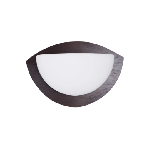 951551W MOTTA 1551 Fali lámpa 1ХЕ27 280X170mm WENGE