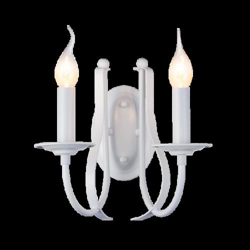 955AMANDA2W/WH AMANDA Fali lámpa 2XE14 WHITE
