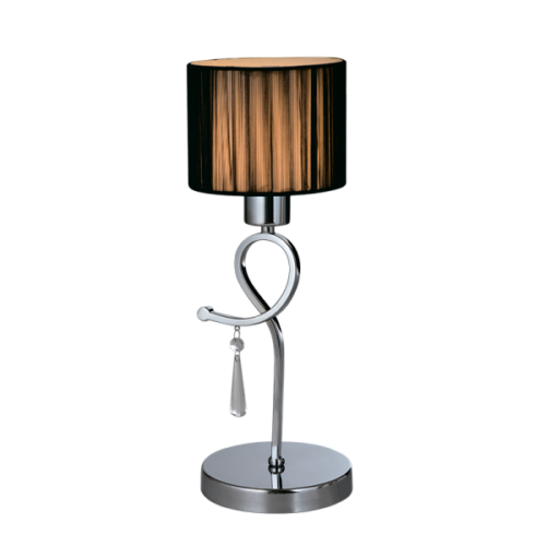 955LILLY1T LILLY Asztali lámpa 1XE27 D150X410mm CHROME