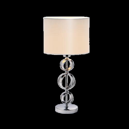 955MAYA1T MAYA Asztali lámpa 1XE27 D320X570mm CHROME