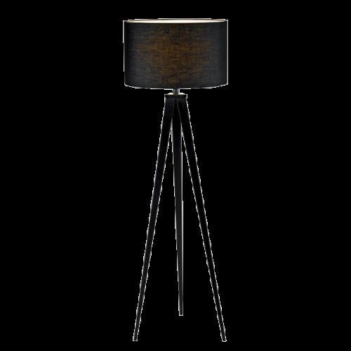 955TOMY1F TOMY Álló lámpa 1XE27 DARK GREY D400XH1550mm