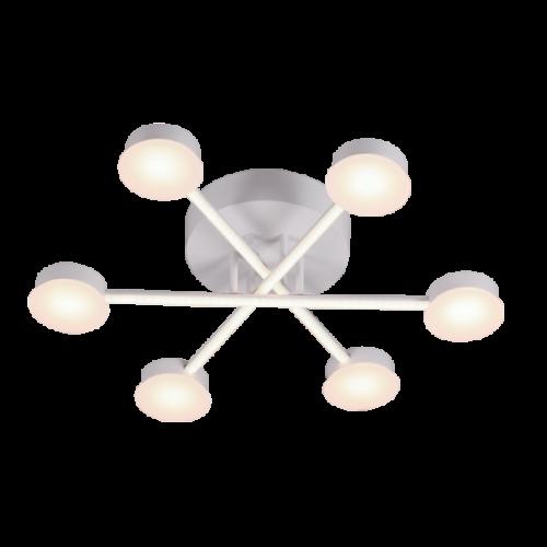 955AZZAR66 AZZAR LED Csillár 66W-3000K MAT WHITE