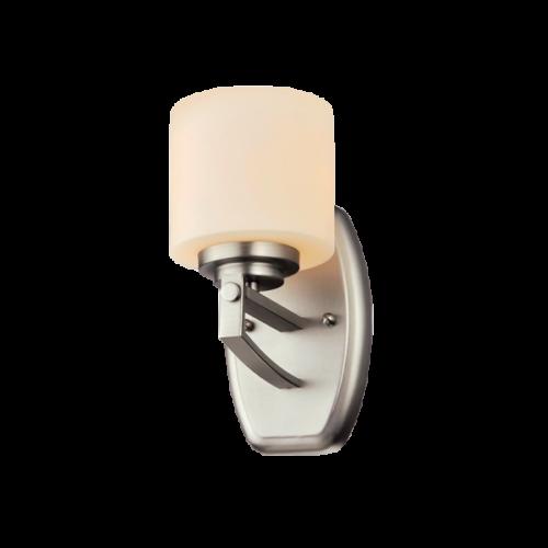 955ERIN1W ERIN Fali lámpa 1XE27 SATIN NICKEL