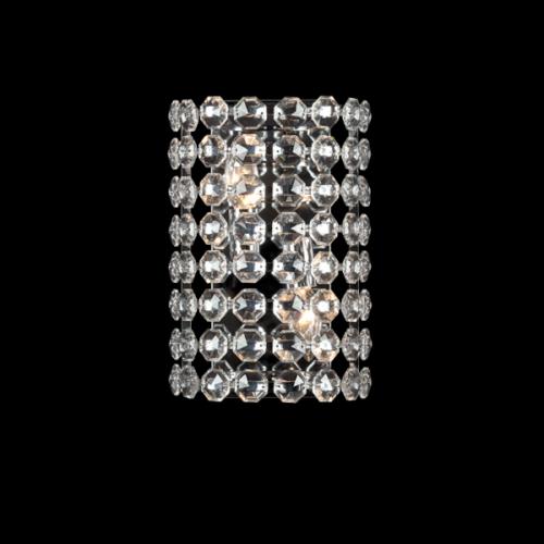 955LAYLA2W LAYLA Fali lámpa 2XE14 CHROME