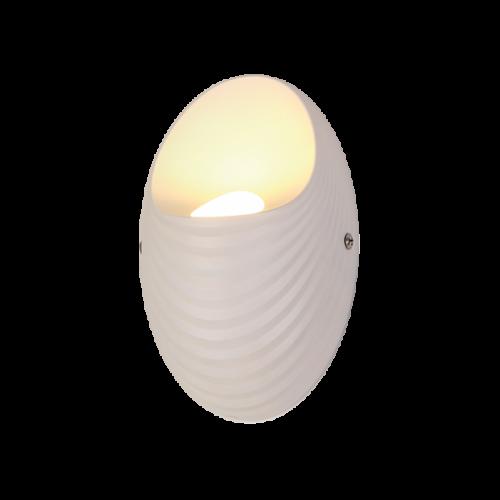 955SHELL1W-WH SHELL LED Fali lámpa 5W-4000K WHITE