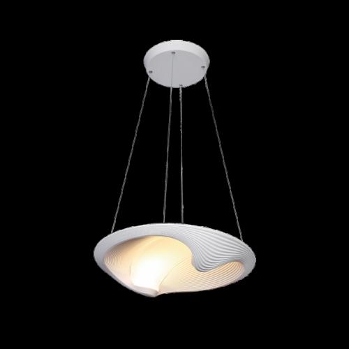 955SHELL1P SHELL LED Függeszték 40W-4000K WHITE