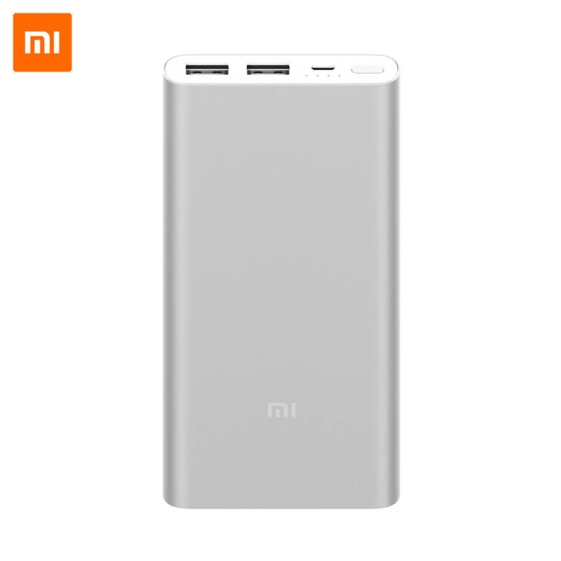Xiaomi Mi Power Bank 2S 10000 mAh, QuickCharge 2.0 - Szürke
