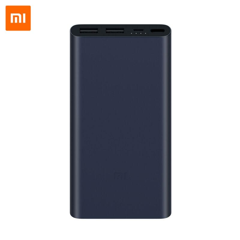 Xiaomi Mi Power Bank 2S 10000 mAh, QuickCharge 2.0 - Fekete