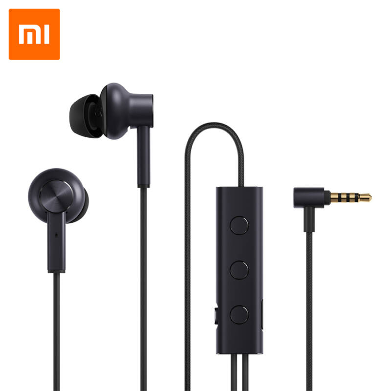 Xiaomi Mi aktív zajszűrős fülhallgató 3.5mm (ZBW4386TY) – FEKETE