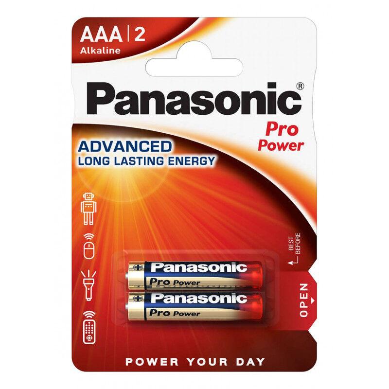 Elem Alkaline Panasonic LR3/AAA PRO POWER - 2db csomagonként