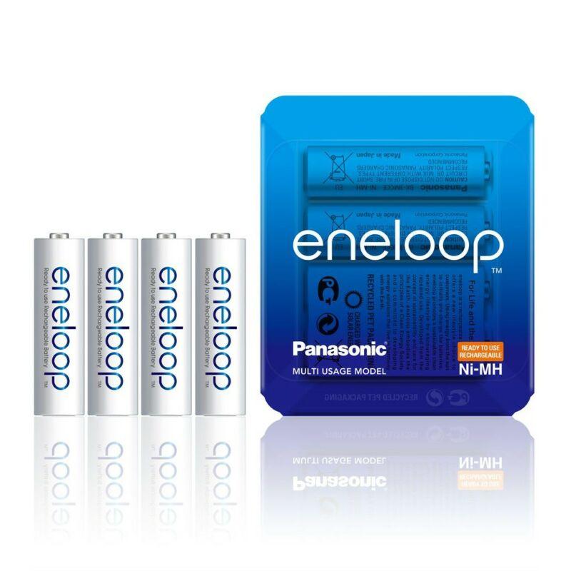 Újratölthető elem Panasonic Eneloop R6/AA 1900mAh - 4db sliding pack