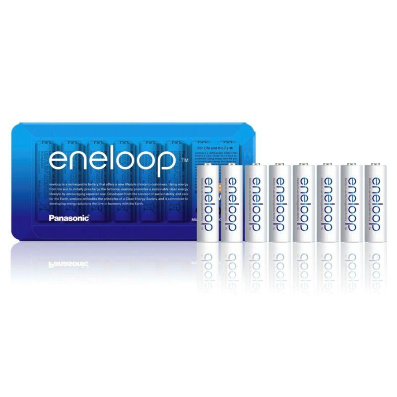 Újratölthető elem Panasonic Eneloop R6/AA 1900mAh - 8db sliding pack