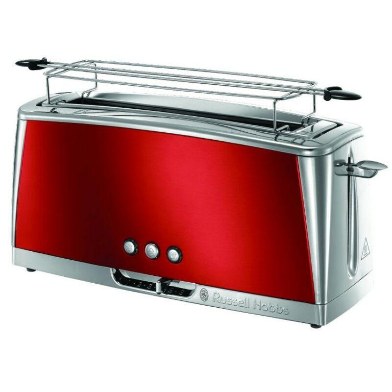 Russel Hobbs 23250-56 Luna Piros hosszúszeletes kenyérpirító