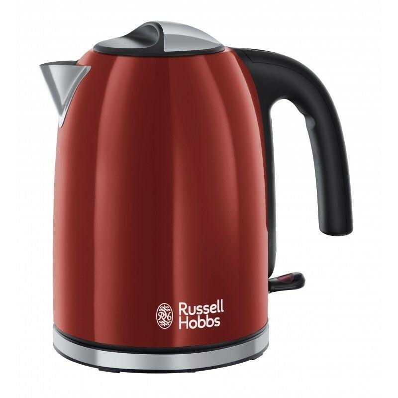 Russel Hobbs 20412-70 Colours Plus+ piros vízforraló