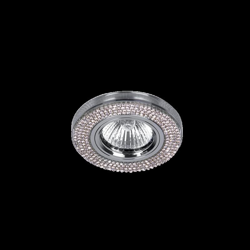925776R-SL CR-776R-SL Beépíthető Spot ROUND CHROME-CRYSTAL