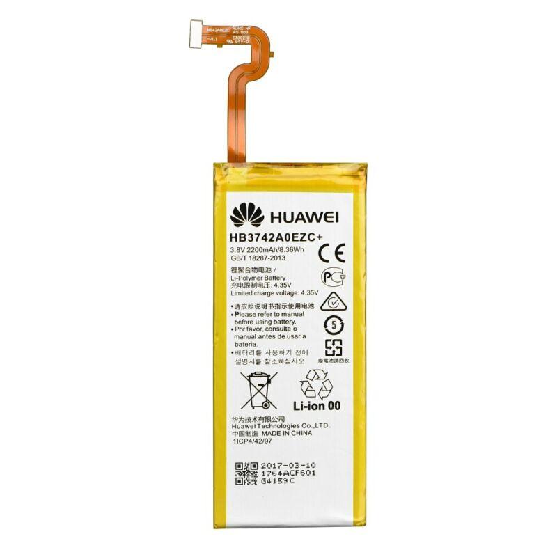 Mobiltelefon akkumulátor, Huawei HB3742A0EZC+ 2200mAh - P8 Lite (bag)