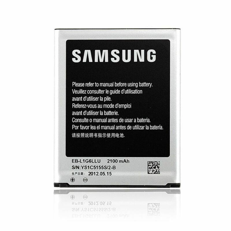 Mobiltelefon akkumulátor, Samsung EB-L1G6LLUC 2100mAh - Galaxy S3 I9300 (bag)