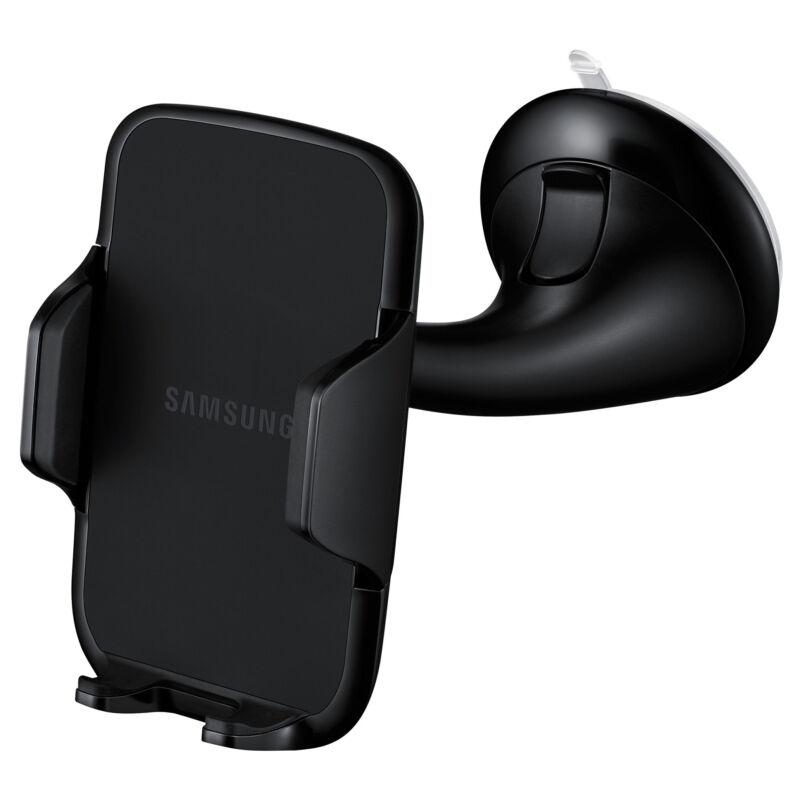 Samsung EE-V200SABEGWW Prémium Autós tartó 4-5,7 coll kijelzőméretű okostelefonokhoz, Fekete