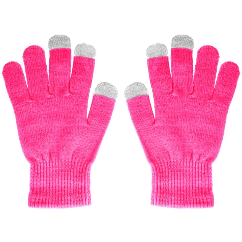 Érintőkesztyű Pamutból - Pink