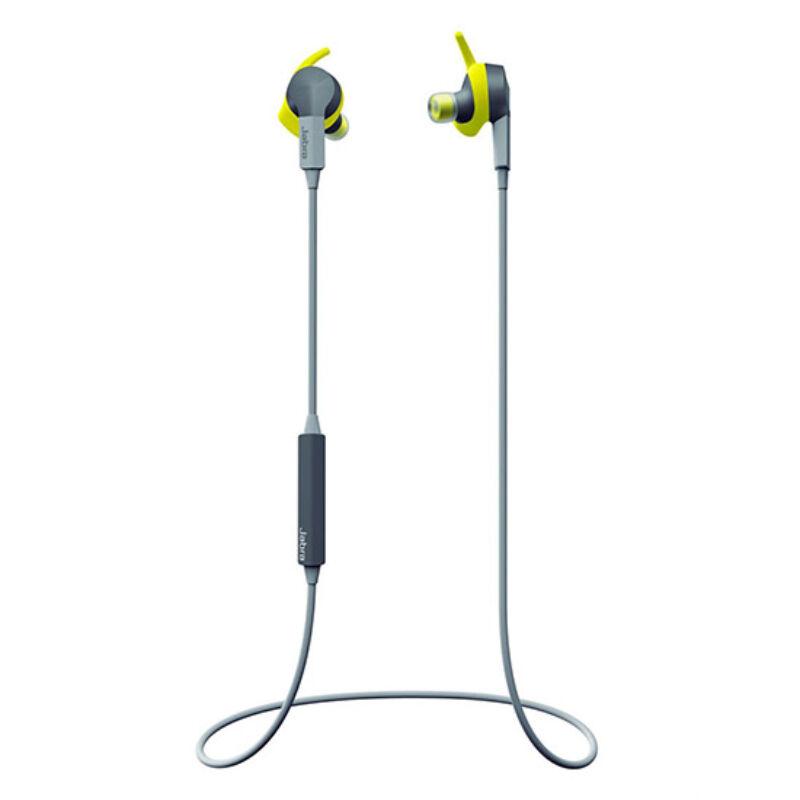 Bluetooth Sztereo Headset - Jabra Sport Coach, Sárga
